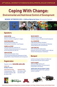 Developmental biology conference poster